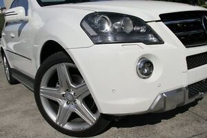 2011 Mercedes-Benz ML 164 MY11 350 CDI (4x4) White 7 Speed Automatic G-Tronic Wagon Petersham Marrickville Area Preview