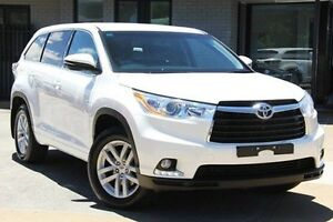2015 Toyota Kluger GSU55R GX AWD White 6 Speed Sports Automatic Wagon Hillcrest Port Adelaide Area Preview