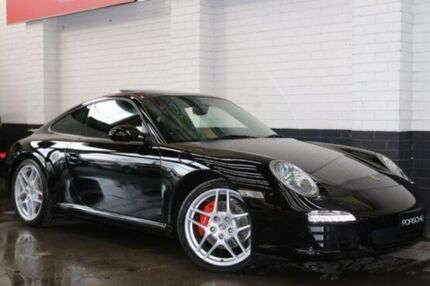 2009 Porsche 911 Carrera 997 Series II MY09 S PDK Black 7 Speed Sports Automatic Dual Clutch Coupe Southbank Melbourne City Preview