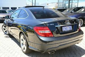 2014 Mercedes-Benz C180 C204 MY14 7G-Tronic + Black 7 Speed Sports Automatic Coupe Victoria Park Victoria Park Area Preview