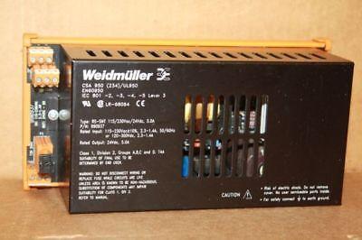 Weidmuller Power Supply 990937 24vdc 5a