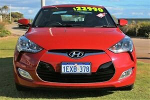 2015 Hyundai Veloster FS4 Series II + Coupe D-CT Red 6 Speed Sports Automatic Dual Clutch Hatchback Bunbury Bunbury Area Preview