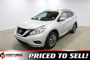 2017 Nissan Murano AWD SV Accident Free,  Navigation,  Heated Se