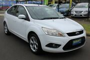 2011 Ford Focus LV Mk II LX White 4 Speed Sports Automatic Hatchback West Footscray Maribyrnong Area Preview