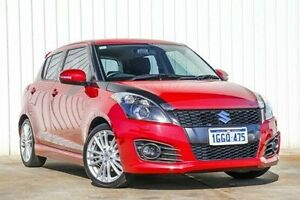 2014 Suzuki Swift FZ MY14 Sport Red 7 Speed Constant Variable Hatchback Willetton Canning Area Preview
