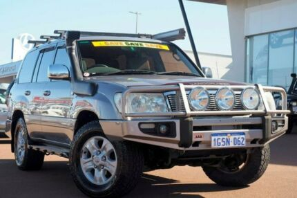 2006 Toyota Landcruiser UZJ100R Sahara Pewter 5 Speed Automatic Wagon Wangara Wanneroo Area Preview