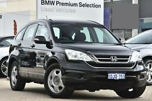 2010 Honda CR-V RE MY2010 4WD Black 5 Speed Automatic Wagon Victoria Park Victoria Park Area Preview