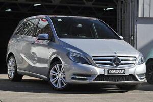 2012 Mercedes-Benz B200 CDI W246 BlueEFFICIENCY DCT Silver 7 Speed Sports Automatic Dual Clutch Mosman Mosman Area Preview