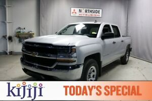 2017 Chevrolet Silverado 1500 4WD CREWCAB LS Back-up Cam,  A/C,