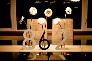 Large Modern Metal House Numbers from House Number King London Ontario image 1