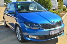 2015 Skoda Fabia NJ MY16 81TSI DSG Race Blue 7 Speed Sports Automatic Dual Clutch Hatchback Mandurah Mandurah Area Preview