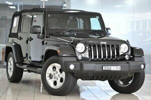 2015 Jeep Wrangler Unlimited JK MY15 Overland Black 5 Speed Automatic Hardtop Chatswood West Willoughby Area Preview