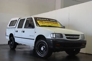 1999 Holden Rodeo TFR9 LX White 4 Speed Automatic Crewcab Underwood Logan Area Preview