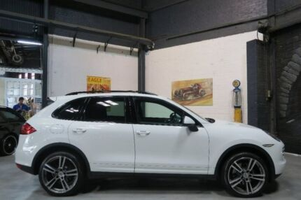 2012 Porsche Cayenne 92A MY13 Tiptronic White 8 Speed Sports Automatic Wagon Port Melbourne Port Phillip Preview