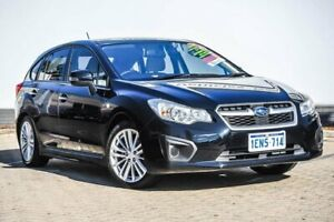 2014 Subaru Impreza G4 MY14 2.0i-L Lineartronic AWD Black 6 Speed Constant Variable Hatchback Morley Bayswater Area Preview