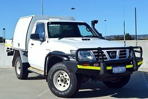2006 Nissan Patrol GU II DX White 5 Speed Manual Cab Chassis Midland Swan Area Preview