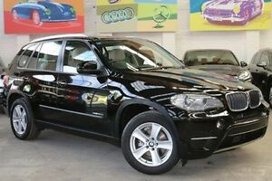 2011 BMW X5 E70 MY11.5 xDrive30d Steptronic Black 8 Speed Sports Automatic Wagon Southbank Melbourne City Preview