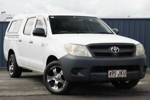 2006 Toyota Hilux TGN16R MY05 Workmate 4x2 White 5 Speed Manual Utility Slacks Creek Logan Area Preview