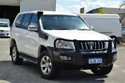 2009 Toyota Landcruiser Prado KDJ120R GXL White 5 Speed Automatic Wagon Pearsall Wanneroo Area Preview