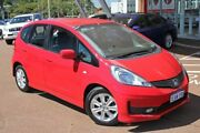 2012 Honda Jazz GE MY12 VTi Red 5 Speed Automatic Hatchback Myaree Melville Area Preview