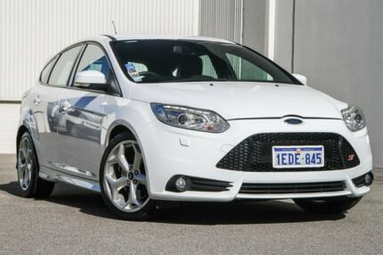 2012 Ford Focus LW MKII ST White 6 Speed Manual Hatchback