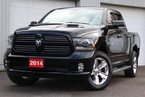 2014 Ram 1500 Sport-EXT WARRANTY+ONE OWNER+ACCIDENT FREE