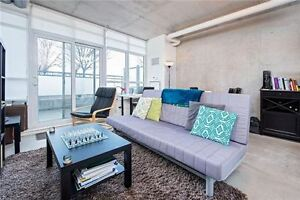 Stunning Hard Loft @ Fuzion w/Large Terrace & 9 Feet Ceilings