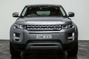 2012 Land Rover Range Rover Evoque L538 MY12 TD4 CommandShift Pure Grey 6 Speed Sports Automatic