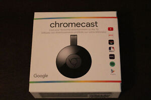 Brand New Google Chromecast 2nd generation in sealed box West Island Greater Montréal image 1