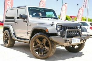 2014 Jeep Wrangler JK MY2014 Sport Silver 6 Speed Manual Softtop Victoria Park Victoria Park Area Preview
