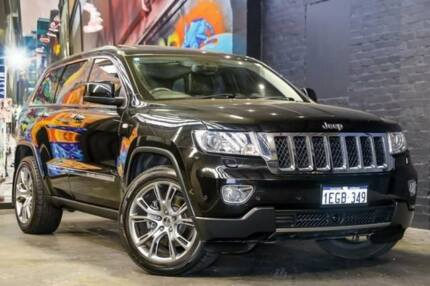 2012 Jeep Grand Cherokee WK MY2013 Overland Black 6 Speed Sports Automatic Wagon