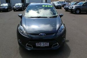 2011 Ford Fiesta WT Zetec PwrShift Grey 6 Speed Sports Automatic Dual Clutch Hatchback