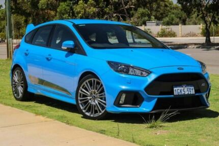 2016 Ford Focus LZ RS AWD Blue 6 Speed Manual Hatchback Wangara Wanneroo Area Preview