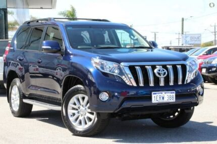 2015 Toyota Landcruiser Prado Blue Sports Automatic Wagon
