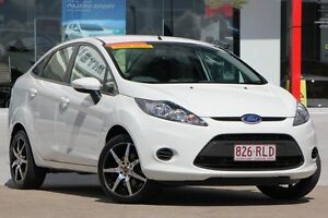 2010 Ford Fiesta WT LX White 5 Speed Manual Sedan Kippa-ring Redcliffe Area Preview