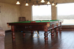 Snooker tables priced from $3500.00 & up St. John's Newfoundland image 3