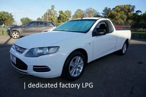 2012 Ford Falcon FG MkII EcoLPi Ute Super Cab Winter White 6 Speed Sports Automatic Utility