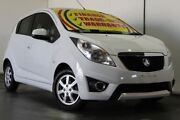 2012 Holden Barina Spark MJ MY12 CD White 5 Speed Manual Hatchback Underwood Logan Area Preview