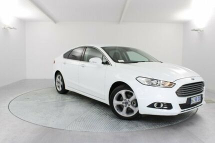2017 Ford Mondeo MD 2017.50MY Trend PwrShift White 6 Speed Sports Automatic Dual Clutch Hatchback Invermay Launceston Area Preview