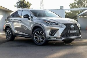 2018 Lexus NX AGZ15R NX300 AWD F Sport Silver 6 Speed Sports Automatic Wagon Kirrawee Sutherland Area Preview