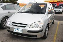 2002 Hyundai Getz TB GL Silver 5 Speed Manual Hatchback Moorabbin Kingston Area Preview