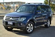 2007 Mitsubishi Pajero NS VR-X Blue 5 Speed Sports Automatic Wagon Pearsall Wanneroo Area Preview