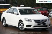 2011 Toyota Aurion GSV40R MY10 AT-X White 6 Speed Sports Automatic Sedan Blacktown Blacktown Area Preview