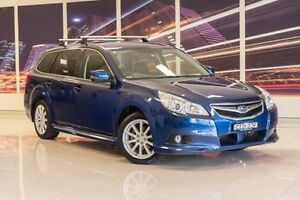 2011 Subaru Liberty B5 MY12 2.5i Lineartronic AWD Blue 6 Speed Constant Variable Wagon Blacktown Blacktown Area Preview