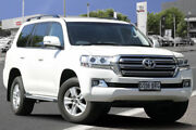 2017 Toyota Landcruiser VDJ200R Altitude Crystal Pearl 6 Speed Sports Automatic Wagon Adelaide CBD Adelaide City Preview