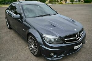 2010 Mercedes-AMG C63 W204 C63 Grey 7 Speed Automatic Sedan Blair Athol Port Adelaide Area Preview
