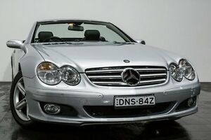 2006 Mercedes-Benz SL350 R230 MY06 Silver 7 Speed Automatic Roadster Rozelle Leichhardt Area Preview