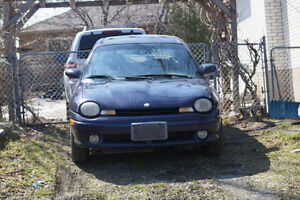 1999 Plymouth Neon Sedan FOR PARTS