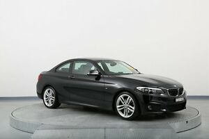 2014 BMW 220i F22 M Sport Black 8 Speed Sports Automatic Coupe Old Guildford Fairfield Area Preview