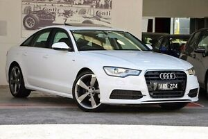 2014 Audi A6 4G MY14 Multitronic White 1 Speed Constant Variable Sedan Doncaster Manningham Area Preview